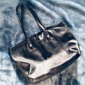 Stella & Dot Paris Market Leather Tote